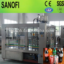 Automatic Carbonated Soda Drink Production Machine / Line / Plant, for Plastic Bottle Packing, 0.25-2Liter