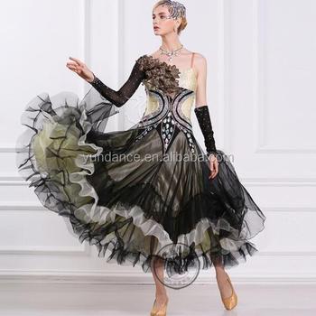 2017 New Fancy Ballroom Dance Dress Fashion Modern Dance Wear For