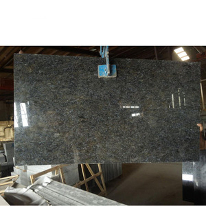 Customized New Style Flash Butterfly Blue Granite Slab