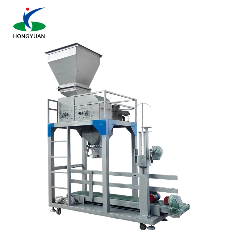 Quantitive weighing system 30~60mm coal belt conveyor packing machine