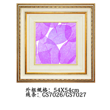 54x54CM Colorful square cheap modern pictures of plants product