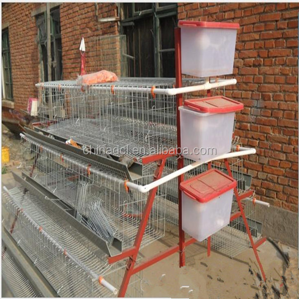 Hot-galvanizing Design Layer Chicken Cages For Kenya