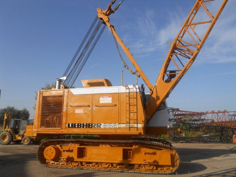 Crawler Crane Hydraulic Liebherr Hs-852-hd - Buy Crawler Crane Liebherr Hs  852 Hd Product on Alibaba com