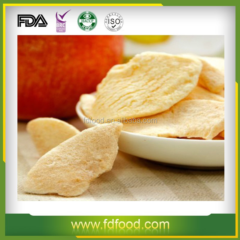 Bulk packing freeze dried apple