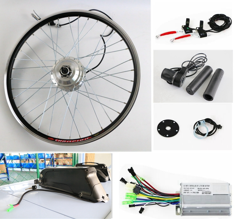electric bike kit 36v ebike kit/350w electric bicycle kit/e-bike conversion kits with battery