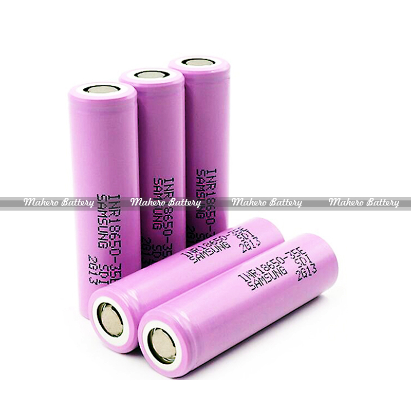 mahero100% original high capacity 18650 3500mah samsung 35e 18650 3500mah inr18650 35e battery