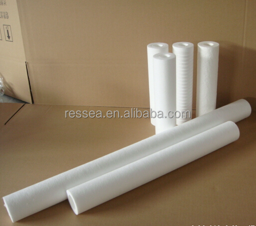 pp sediment cartridge filter 10 x 2.5 / filter spun 20 x 4.5 20 micron