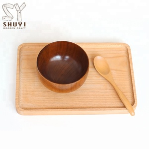 Customized High Quality Cheap Handcrafted Small Wooden Bowl
