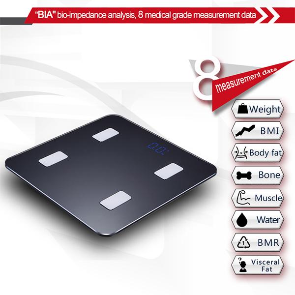App Portable Bluetooth Health 28 Stone Body Analyser Calibrate ...