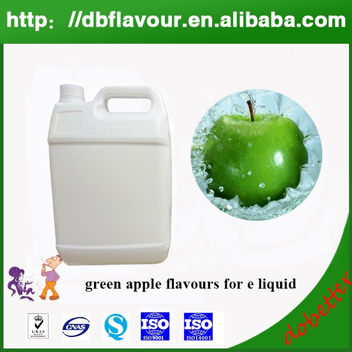 High Quality Green Apple Flavour for E Liquid Flavoring High Concentrated E Juice Used Flavoring
