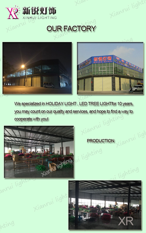 Outdoor Artificial Led Types Of Ornamental Plants Fruit Tree Light ...