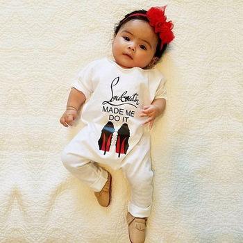 S17540a Lucu Bayi Perempuan Pakaian Lengan Panjang Katun Gambar Huruf Baju Monyet Buy Dengan Harga Murah Bayi Gadis Pakaian Katun Organik Bayi Rompers Dicetak Baju Monyet Product On Alibaba Com
