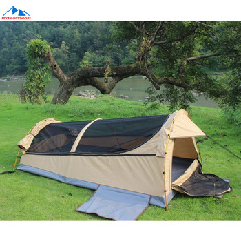 reputable site f9510 ec1f4 1-2 Person Canvas Australian Swag Tent With Sleeping Pad - Buy Swag  Tent,Australian Swag Tent,Australian Tent Product on Alibaba.com