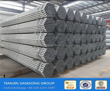 Hot Dip Galvanized Steel Pipe Manufacturer BS 1387 CLASS B galvanized steel pipe fitting dimensions