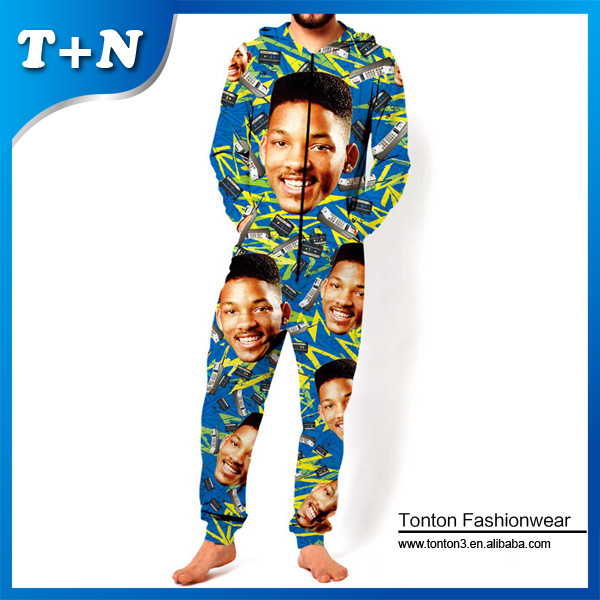 one piece adult animal jumpsuit for men 2015