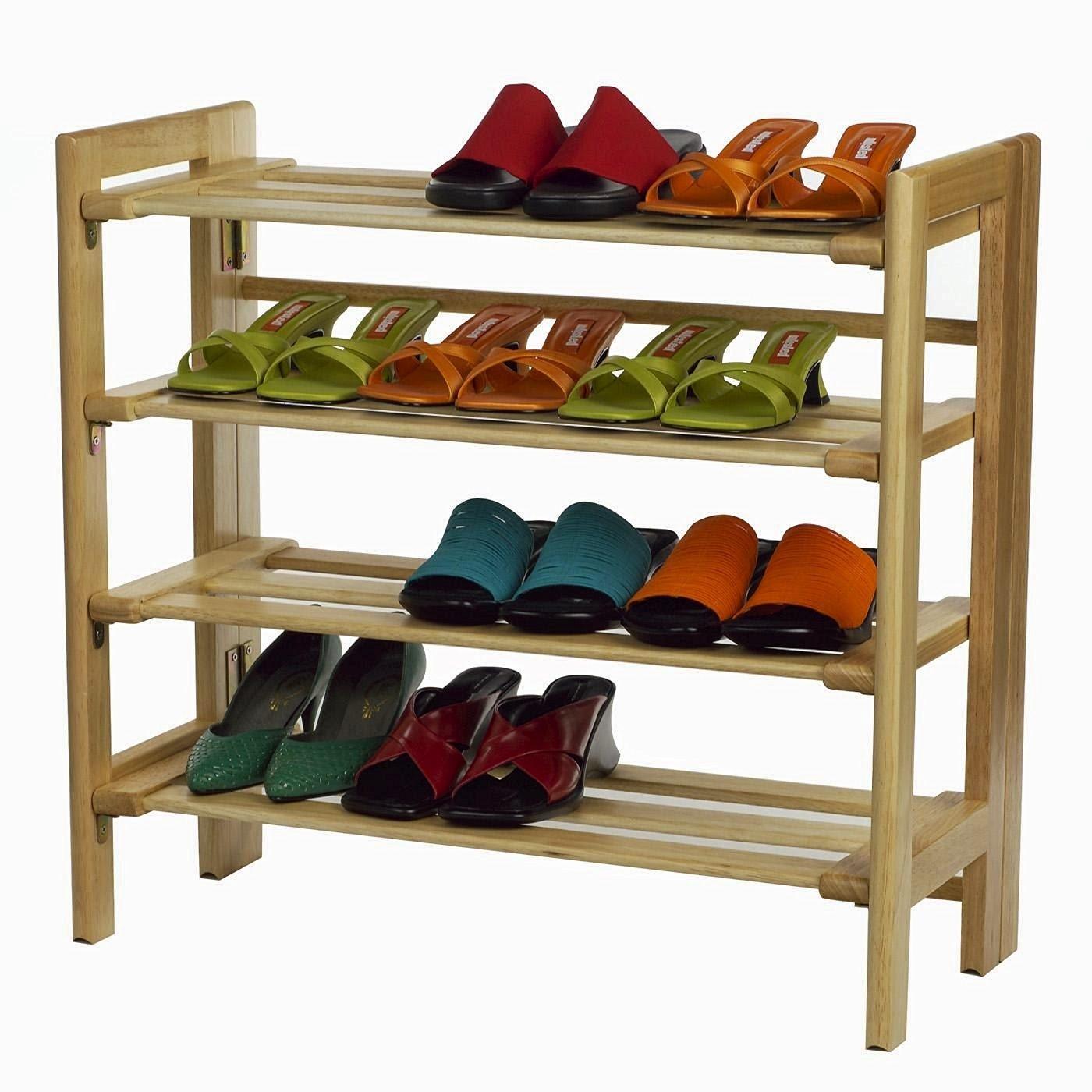 amazon oceanstar shoe com cheap dp bamboo kitchen rack tier home stackable
