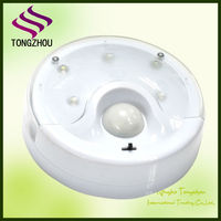 Sensor led lamp with battery
