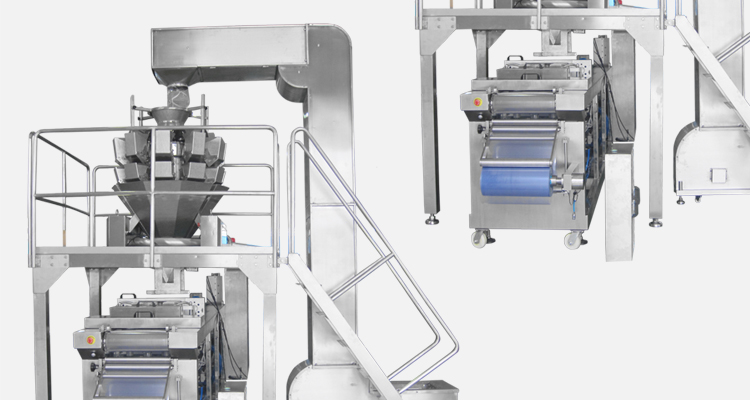UTIEN Automatic food thermoformer packagine machine with vacuum skin and modified atmosphere