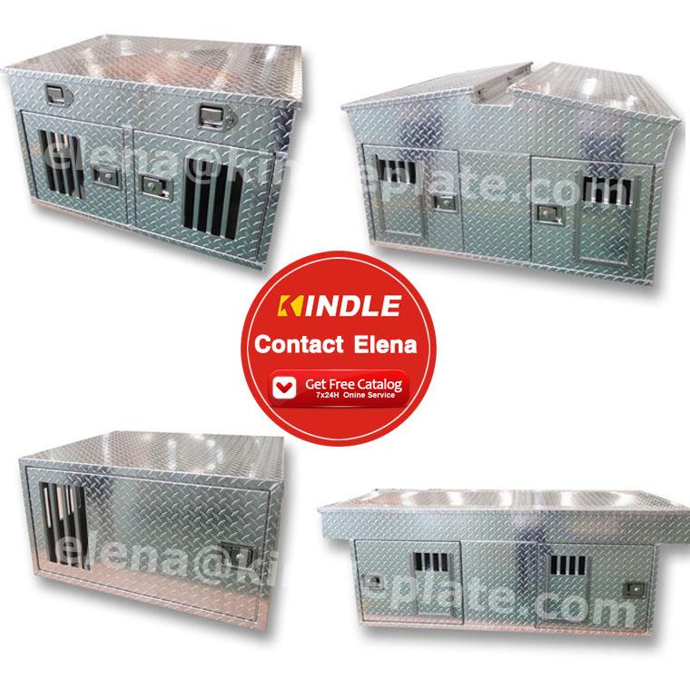Custom 알루미늄 잠금 Storage 트럭 도구 상자에 Set 와 Cover