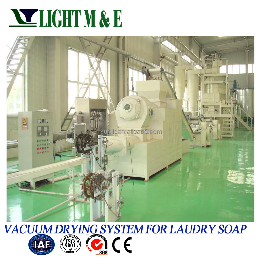 Automatic laundry soap production line