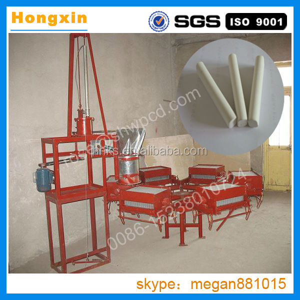 China supply chalk making machine prices/dustless school blackboard chalk piece moulding machine/chalk making machine in india