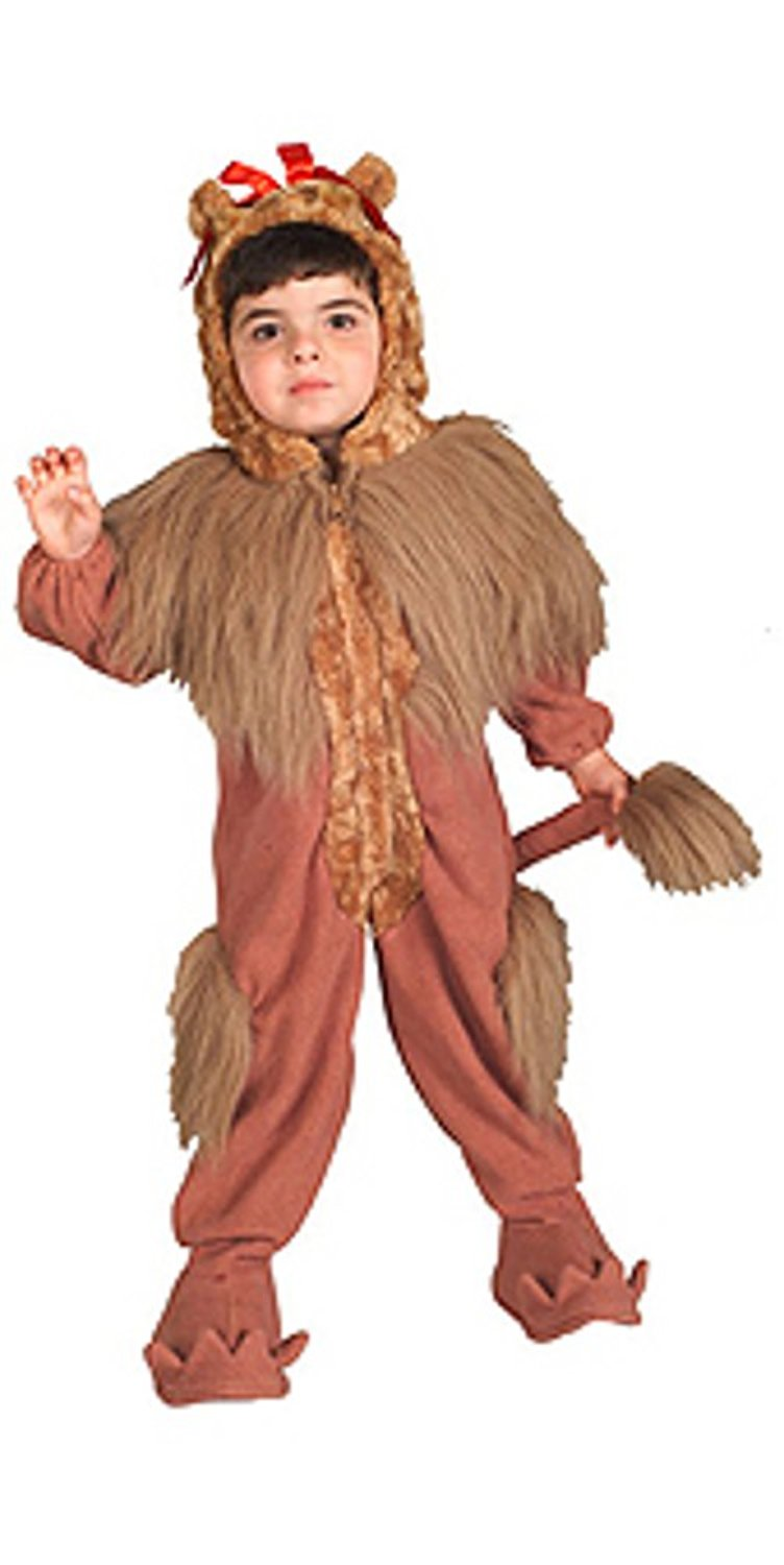 Buy Wizard Of Oz Cowardly Lion Costume Deluxe In Cheap Price On