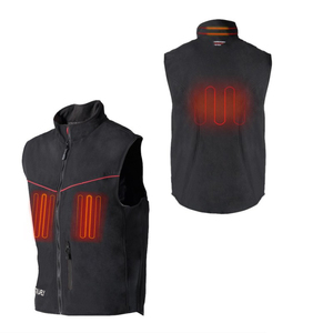 7.4V heating leather private label Waistcoat