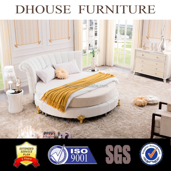 Hotel Bedroom Furniture New Clic Italian White Round Bed Sets 021
