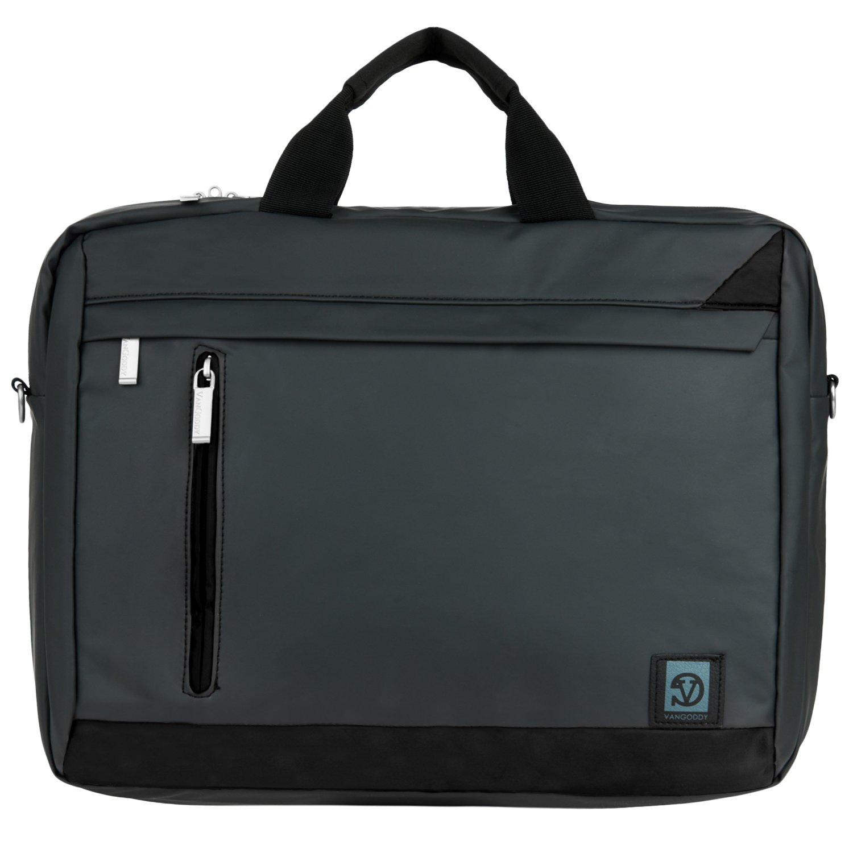 VanGoddy Adler Briefcase Messenger Bag for Apple MacBook Pro 15.4-inch Laptop (Grey)