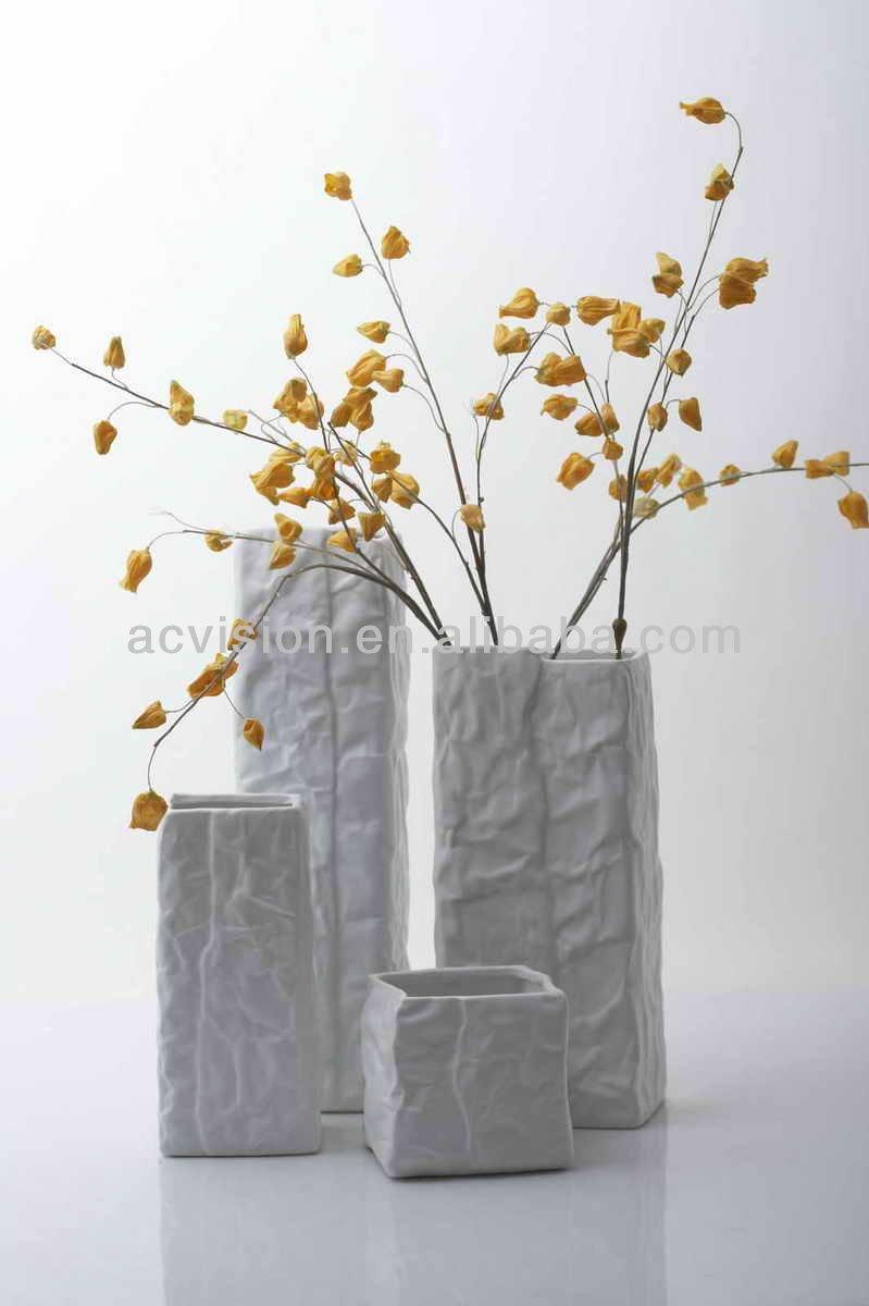 contemporary floor vases