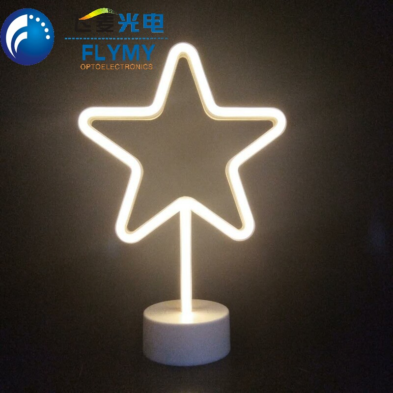 New Product Night Table Light Led Unicorn Neon Light for Wedding Party Home Decoration