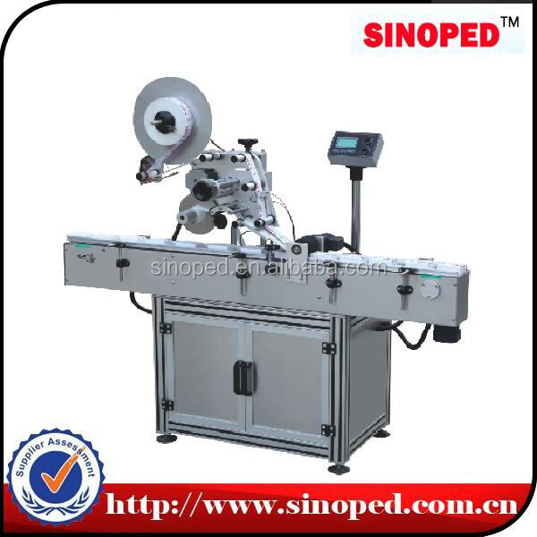 Automatic Flat Bottle Surface Labeler Machine
