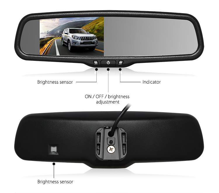 rear view mirror car monitor
