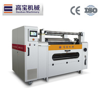 Gaobao Innovative Product Roll Paper Straw Slitting Rewinder Machine with motor rewind machine