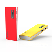 DOCA Portable Charger 13000 High Capacity Power Bank with 2.1A Output On-The-Go Charging Power for iPhone, iPad, Samsung Galaxy