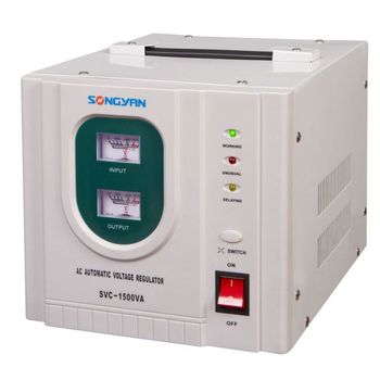 Servo Voltage Stabilizer India Single Phase Voltage