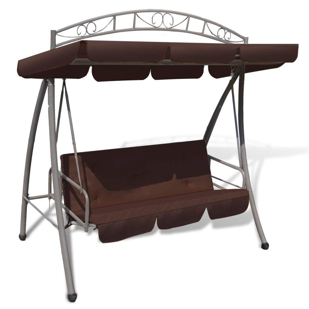 Blxcomus Covered Hanging Outdoor Coffee Swing Chair Bed With Canopy Patio Hammock