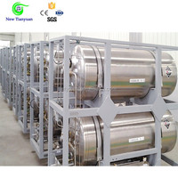 Liquiefied Gas Small Volume Cryogenic LNG Cylinder