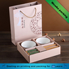 Utensils ceramic bowl chopsticks gift packaging box and bag sets