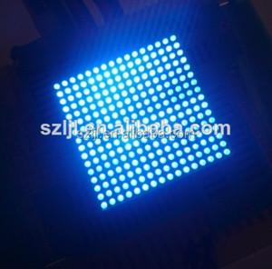Indoor unit module led matrix 16x16 array with 1 8mm dot