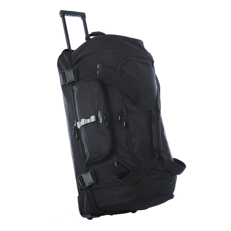 Olympia Sports Plus Rolling Shopper Tote Bag Wheeled Handbag