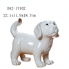 Hand painted home porcelain decorative white ceramic animals