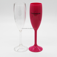 Colorful Wine Glass Plastic Champagne Flute Champagne Cup