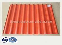 Wholesaler price curving corrugated PVC roofing tile for warehouse