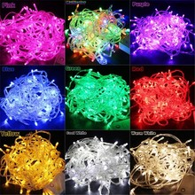 220V EU 10m/100leds led string light for Holiday Wedding Christmas, decoration for Party garland lighting led lights outdoor B26