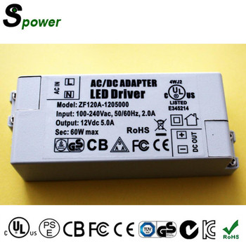 Constant Voltage 24V 150W LED Driver 6.25A Led Lighting Transformer with SAA ROHS CE US CUL Certifications