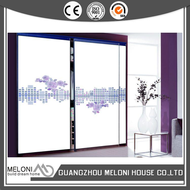 Custom design oem/odm white sliding wardrobes