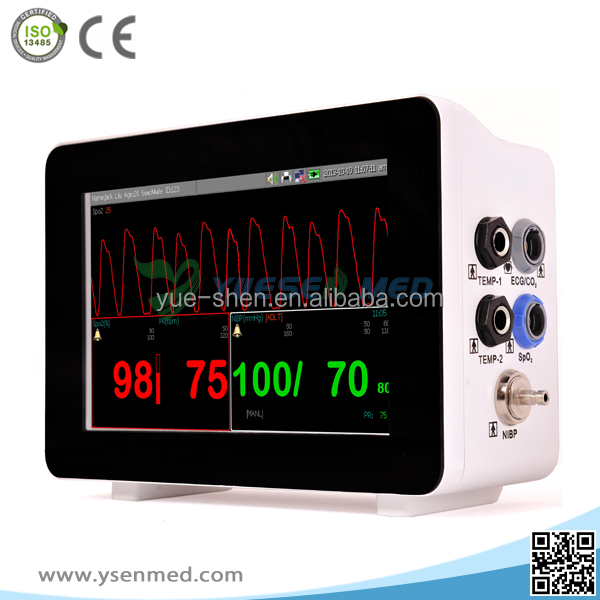 2017 hot product YSF3 low price medical operation room good quality easy carrying handheld patient monitor in china