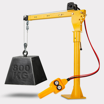 Mini Lifting Hp1000 Electric Truck Crane For Pick Up Goods