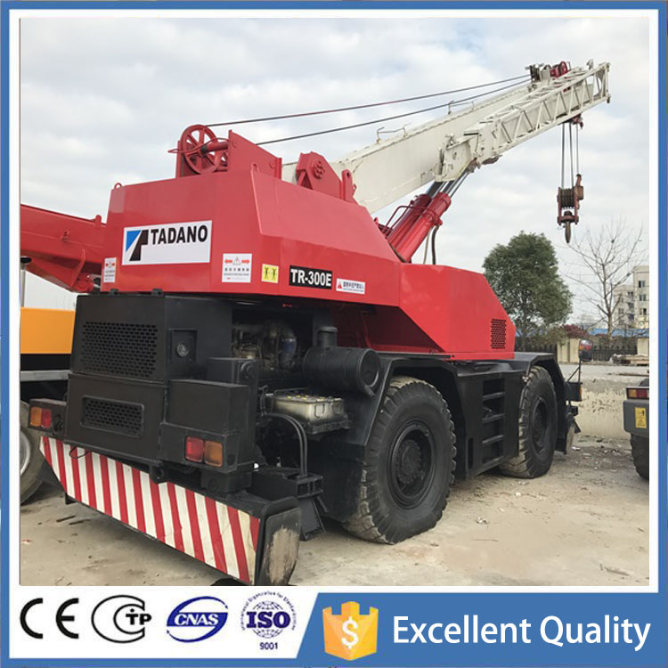 Hot Sale Original Japan TADANO Used Rough Terrain Crane 30 Ton TR300M